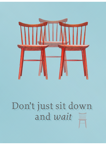 I agree with this poster and those three chairs
